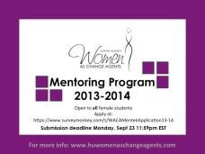 Mentoring 2013